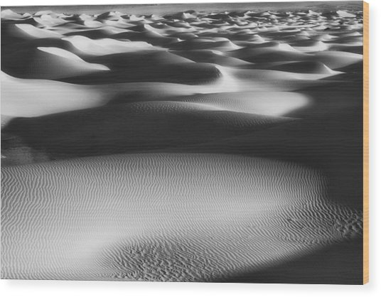 Dunes Death Valley Wood Print