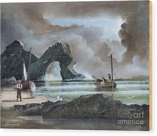 Durdle Door - Dorset Wood Print