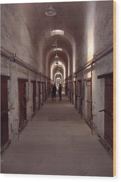 Eastern State Penitentiary Wood Print