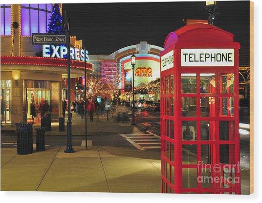 D65l-162 Easton Town Center Photo Wood Print