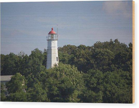 Eatons Neck Lighthouse Wood Print