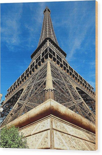 Eiffel01 Wood Print