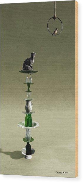 Equilibrium IIi Wood Print