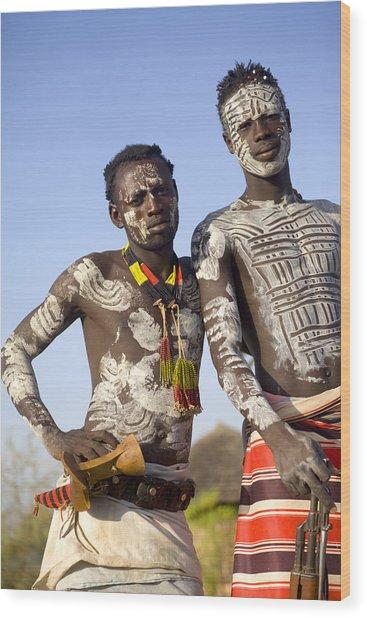 Ethiopia Wood Print