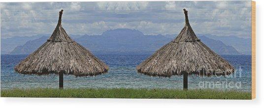Fiji Wood Print