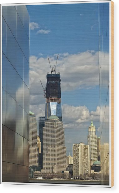 Freedom Tower Wood Print by Wayne Gill