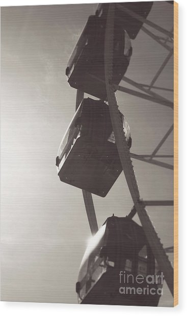 Fremantle Ferris Wheel  Wood Print