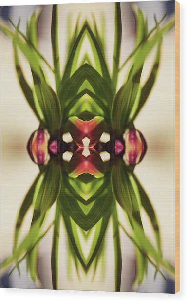 Fritillaria Flower Plant Wood Print