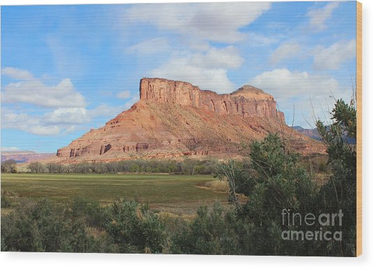 Gateway Colorado Wood Print