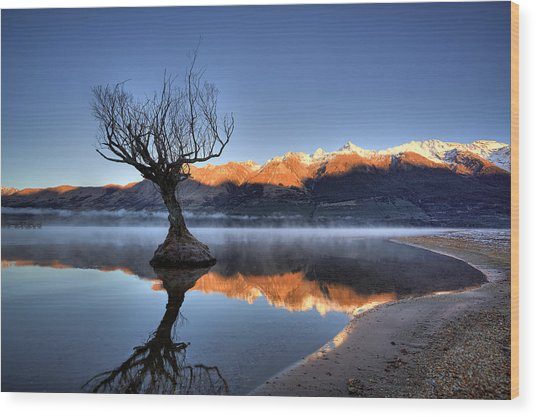 Glenorchy Wood Print