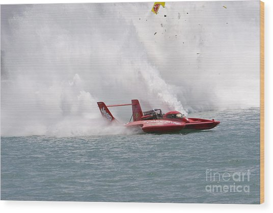 Gold Cup Hydroplane Races Wood Print