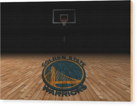 Golden State Warriors Wood Print