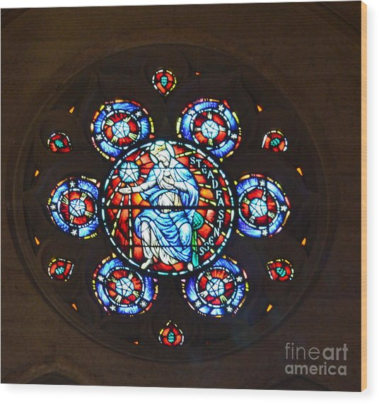 Grace Cathedral Wood Print