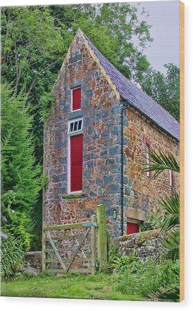 Guernsey Barn Wood Print