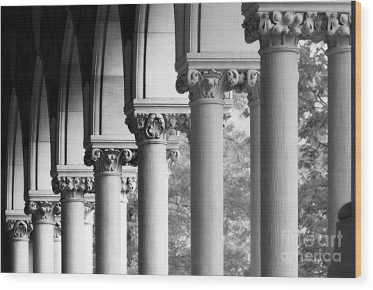 Memorial Hall At Harvard University Wood Print