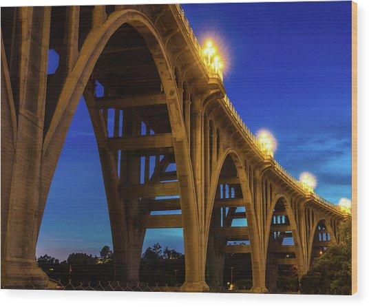 Historic Colorado Bridge Arches Wood Print