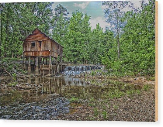 Historic Rikard's Mill In Virginia Wood Print