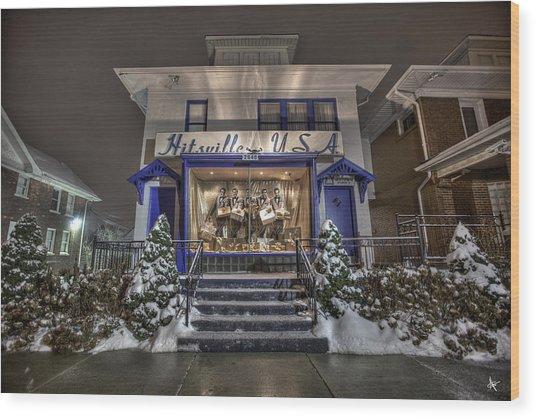 Hitsville Usa Wood Print