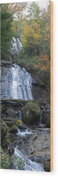 Horse Trough Falls Wood Print