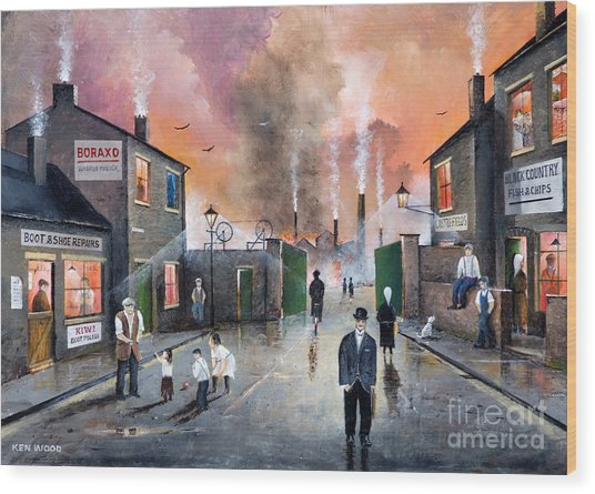 Images Of The Black Country Wood Print