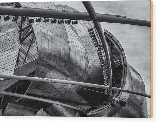 Jay Pritzker Pavilion Wood Print