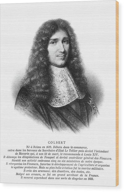 Jean-baptiste Colbert (1619-1683) Wood Print by Granger