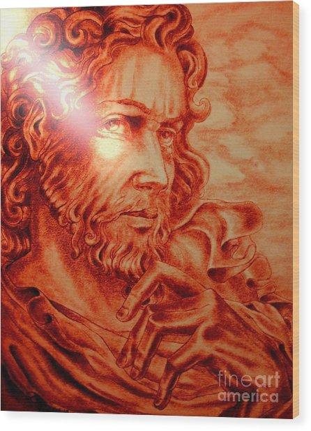 Judas Iscariot Wood Print