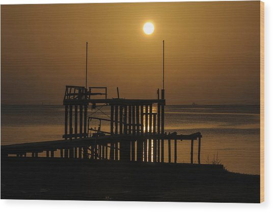 Keemah Sunrise Wood Print
