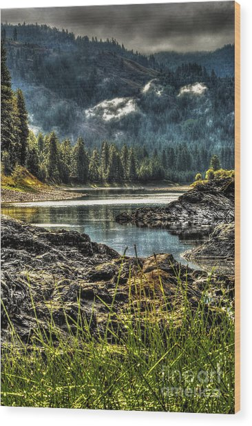 Kettle River Wood Print