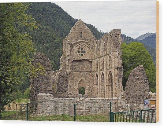 L'abbaye De Saint-jean-d'aulps Wood Print