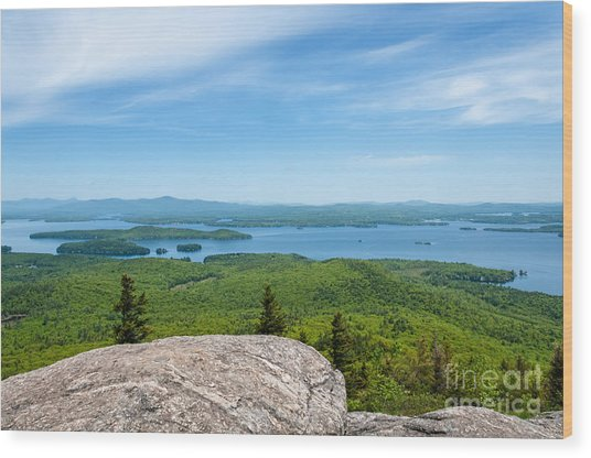 Lake Winnipesaukee Wood Print