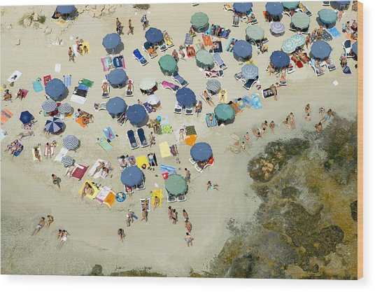 Las Salinas Beach, Ibiza Wood Print by Xavier Durán