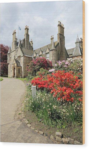 Lauriston Castle Wood Print