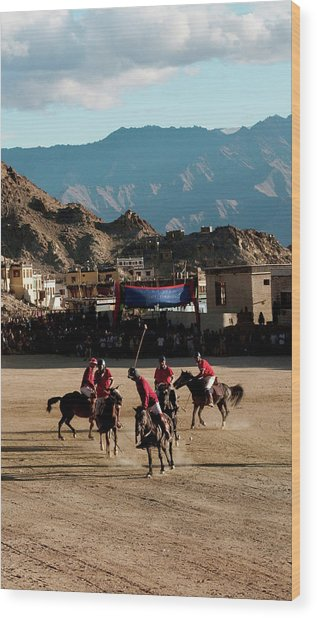 Leh, Ladakh, India Wood Print
