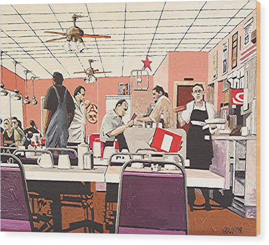 Li'l Joe's Wood Print by Paul Guyer