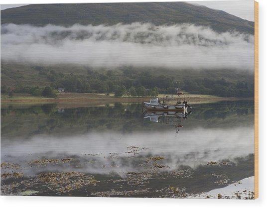 Loch Eil Reflections Wood Print