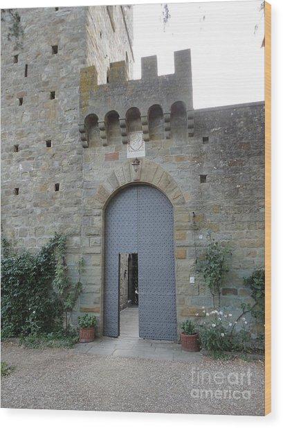 Loppiano's Castle Wood Print