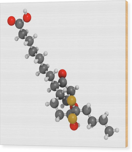Lubiprostone Chronic Constipation Drug Wood Print by Molekuul