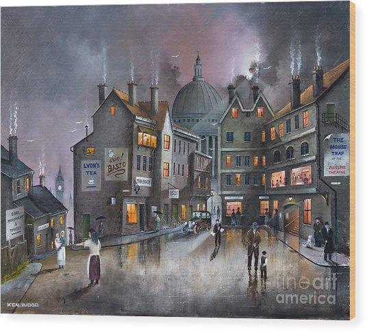 Ludgate Hill Wood Print