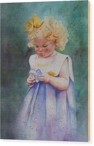 Maggie's Dandelion Wood Print