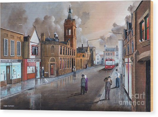 Market Street - Stourbridge Wood Print