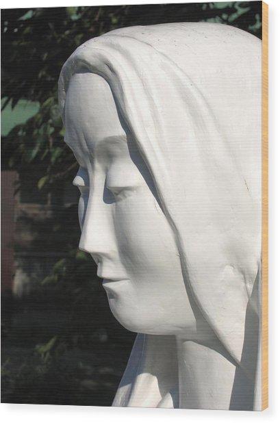Mary 2009 Wood Print