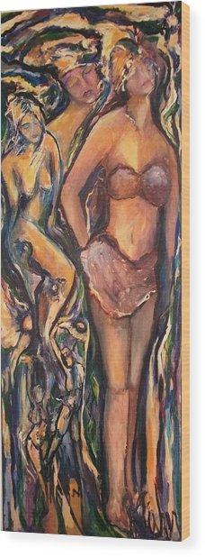 Maryjanes Wood Print