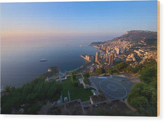 Monte Carlo Wood Print by Ioan Panaite