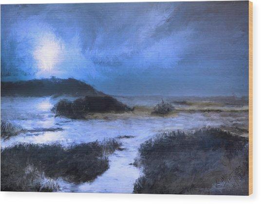 Moonlight Sonata Wood Print