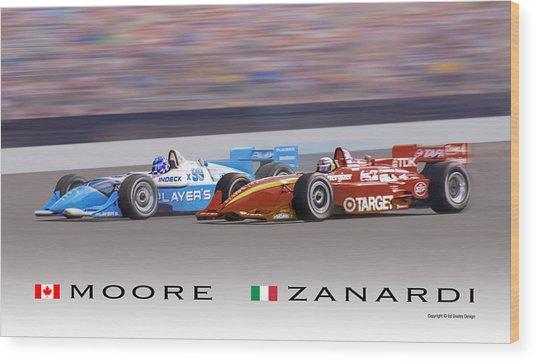 Moore And Zanardi Wood Print