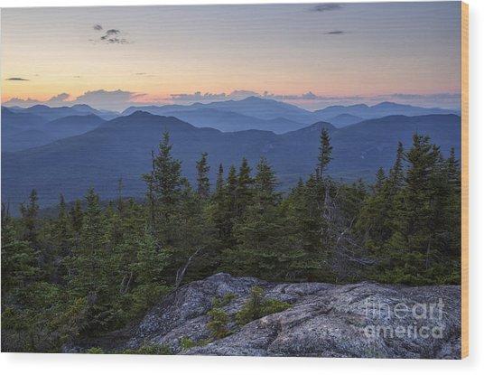 Mount Chocorua Scenic Area - Albany New Hampshire Usa Wood Print