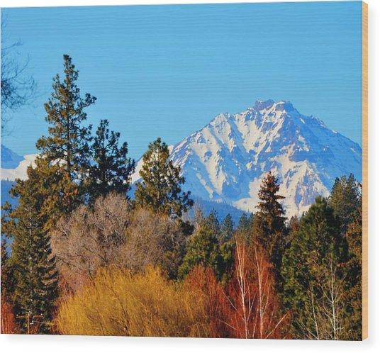 Mt Bachelor 21620 Wood Print