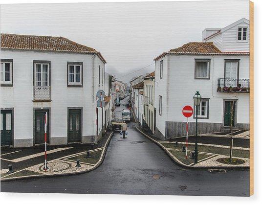Municipality Of Ribeira Grande Wood Print