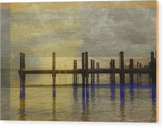 No. 141 Wood Print by Alexander Ahilov